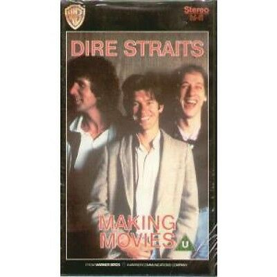 DIRE STRAITS Making Movies VIDEO Pal Format Vhs 3 Song Presentation. Running