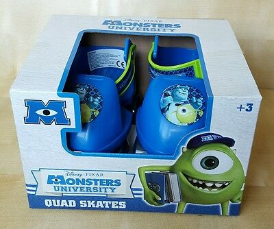 Disney Pixar Monsters university adjustable   quad skates BNIB