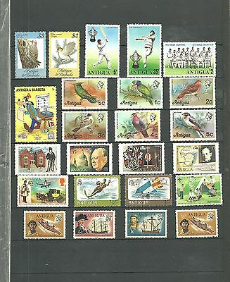 Antigua Collection Of Various Selection & Sets Inc Birds Mint Nh/vf