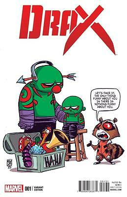Drax #1 Skottie Young Baby Variant Cover Guardians Of The Galaxy Marvel Comics
