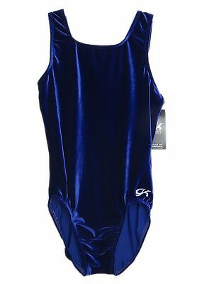 GK Elite Gymnastics Leotard - Purple Velvet - AXL Adult Extra Large NEW