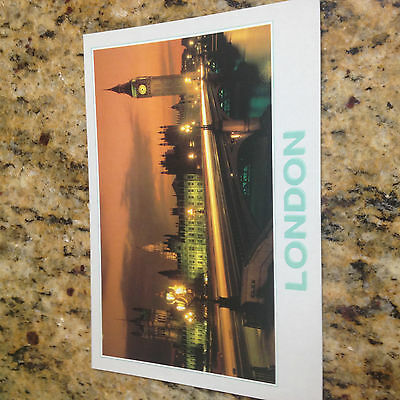 Postcard Unposted, LP189 westminster houses of Parliament London England