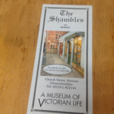 The Shambles of Newent, Museum of Victorian Life Brochure