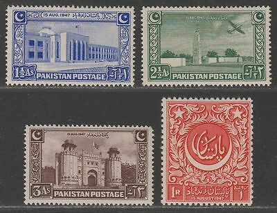 Pakistan 1948 Independence Set Mint SG20-23