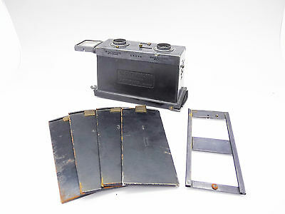 RICHARD GLYPHOSCOPE Stereo Camera/Viewer 4.5x10 with Holders             5591