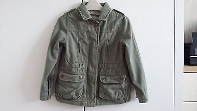 Girls Next green jacket size 5-6 years great used condition