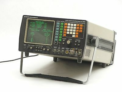 MARCONI INSTRUMENTS RADIO COMMUNICATIONS TEST SET 2955-900A SERVICE MONITOR 1GHz