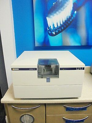 Sirona Cerec 3 2006 Compact milling unit with only 137 mills!