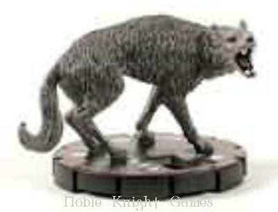 HorrorClix Base Set Dire Wolf #021 - Veteran NM
