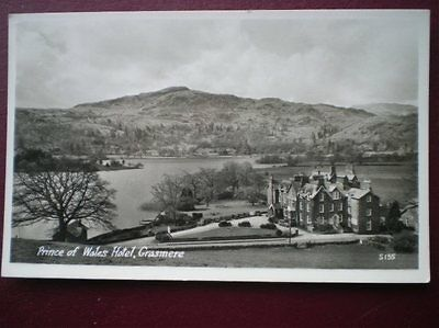 Postcard Rp Cumbria Grasmere - Prince Of Wales Hotel