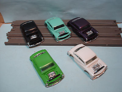 Ho Xtras Body Lot #5 1949 Hot Rod Coupe Bodies 5 Colors See Details Fits Afx