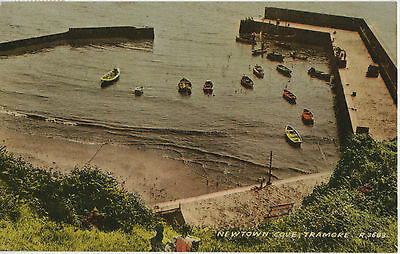 Newtown Cove Tramore 1962 Used Postcard Stamped Card No. 3683