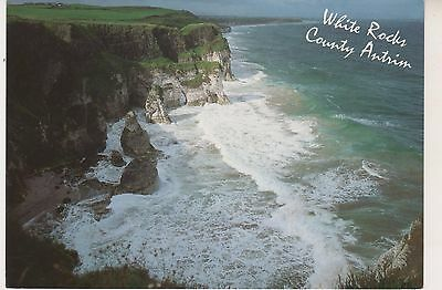 White Rocks, County Antrim. Modern postcard in GC. Unwritten and Unposted