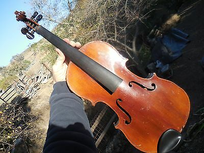 Vintage Schutz Marke Violin Schutzmarke for Repair or Restoration