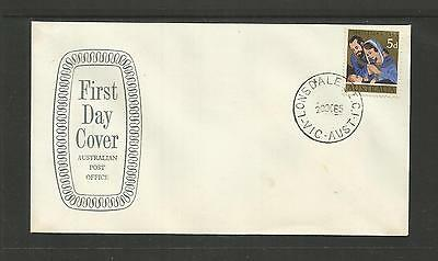 Australia Fdc First Day Cover ~ 1965 Christmas