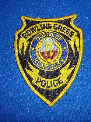 Bowling Green Kentucky Police Patch Vintage