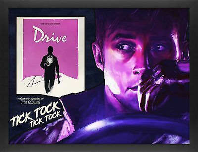 Ryan Gosling Signed amazing 3D Framed Drive Signed Photo Display
