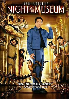 Night At the Museum - DVD Region 1 Free Shipping!