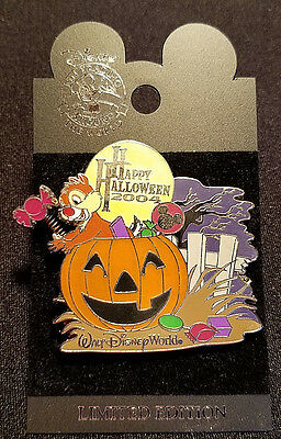 Rare 2004 Walt Disney World Halloween Trick Or Treat Collection Dale Pin Le 1500