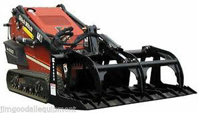 "Brush Grapple for Mini Skid Steer Loader,42"" Bradco Fit Toro,Vermeer,Ditch Witch"