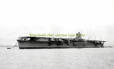 Japanese imperial Navy Carrier Hiryu 11X17 Photo Military 11x17 Black n White