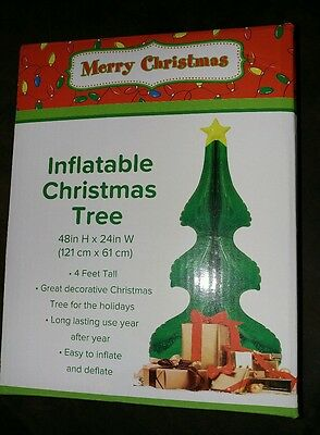 Inflatable 4ft Christmas Tree NEW IN BOX