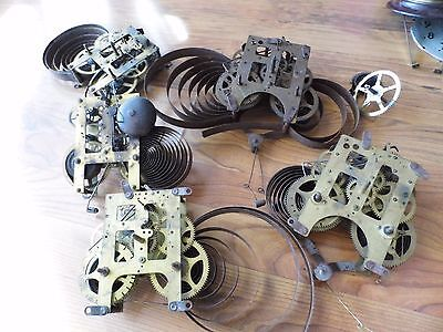 Antique Clock Mechanical Works ~ Parts