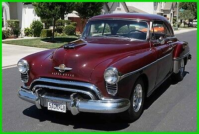 1950 Oldsmobile Eighty-Eight Holiday Coupe Restored 1950 Olds 88 Holiday Coupe 324/700R Chevy PS AC California Show/Drive