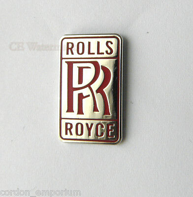 Rolls Royce Red Automobile Car Logo Lapel Pin Badge 3/4 Inch