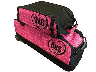 DV8 DIVA 3 Ball Tournament Tote Bowling Bag with Shoe Pocket NEW