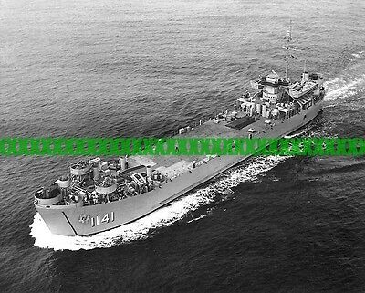 USS Stone County LST-1141 8x10 Photo Navy Military Landing Ship Tank LST 1141