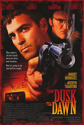 From Dusk Till Dawn (1996) original movie poster single-sided rolled
