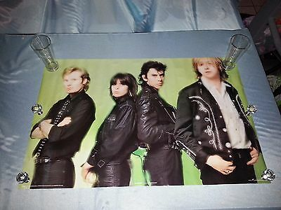 VINTAGE PRETENDERS  POSTER RARE 1979 PACE Still shrink wrapped
