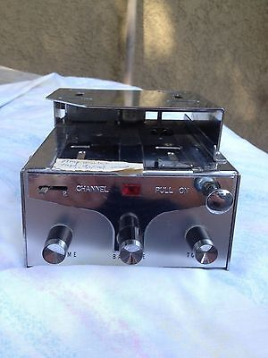 Vintage 4  track Car Tape Player Space Age Model S- 700