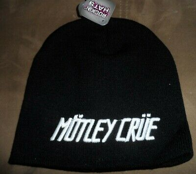 MOTLEY CRUE - Embroidered Beanie  *Brand New & Never Worn*   ~FREE SHIPPING~
