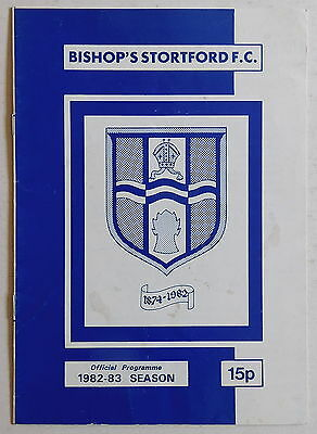 BISHOP'S STORTFORD Vs MIDDLESBROUGH - 11 January 1983 - F.A. Cup Third Round