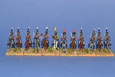 15mm Napoleonic Painted French Late Hussar Fr21-6