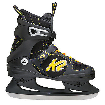 K2 Herren 2550000.1.1 Ice Skates Schlittschuhe F.I.T. Ice black yellow