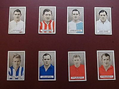 Famous Footballers (Brown Back) Issued 1926 By Gallaher Set 50