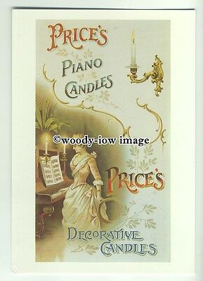 ad0294 - Prices Piano Candles - Decotrative Candles - Modern Advert Postcard