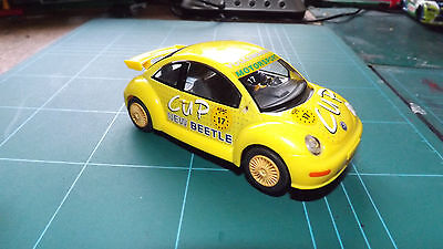 SCALEXTRIC VW BEETLE Car With Lights !