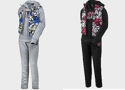 BNWT: Girls Black/Grey NYC Best Place 3 piece tracksuits, ages: 7/8,10/12, 14/16