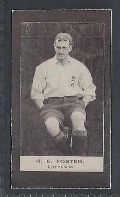 Smith - Footballers (Brown Back) - #52 R E Foster, Corinthians