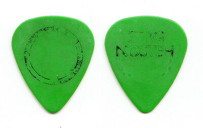 Bad Religion Greg Hetson Gerg Nosteh Concert-Used Green Guitar Pick 1990s Tours
