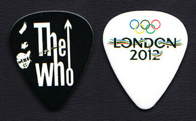 The Who Pete Townshend Summer Olympics London Guitar Pick - 2012 Tour