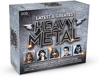 Heavy Metal-Latest / - Heavy Metal-Latest / Various [New CD] UK - Import
