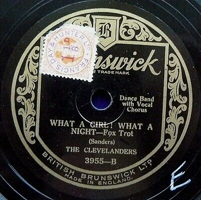 CLEVELANDERS (Reser) What A Girl What A Night/ Honey (E)
