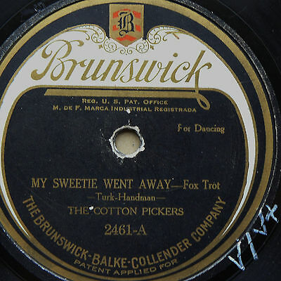 COTTON PICKERS My Sweetie Went Away/ The Duck's Quack (V/V+)