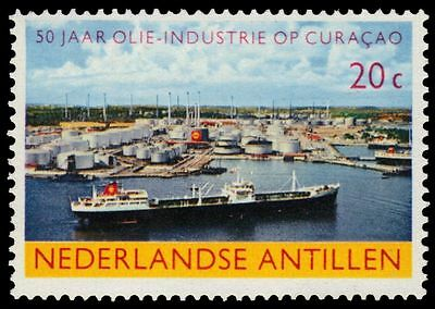 NETHERLANDS ANTILLES 293 (SG150) - Oil Industry 50th Anniversary (pa84866)