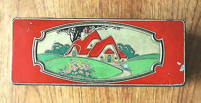 A Lovely Vintage C.w.s.  Art Deco Biscuit Tin Free Sample